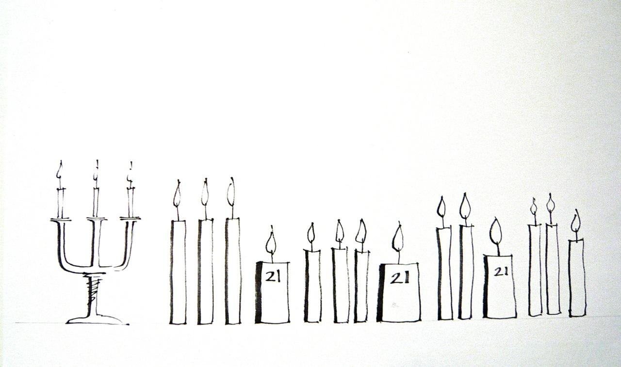 Birthday Candle Sketch | www.imgkid.com - The Image Kid ...