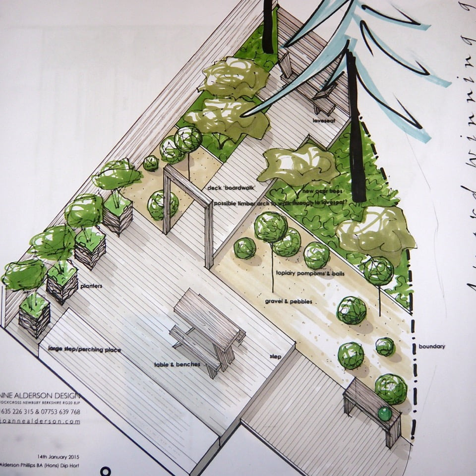 Barn conversion drawing plan
