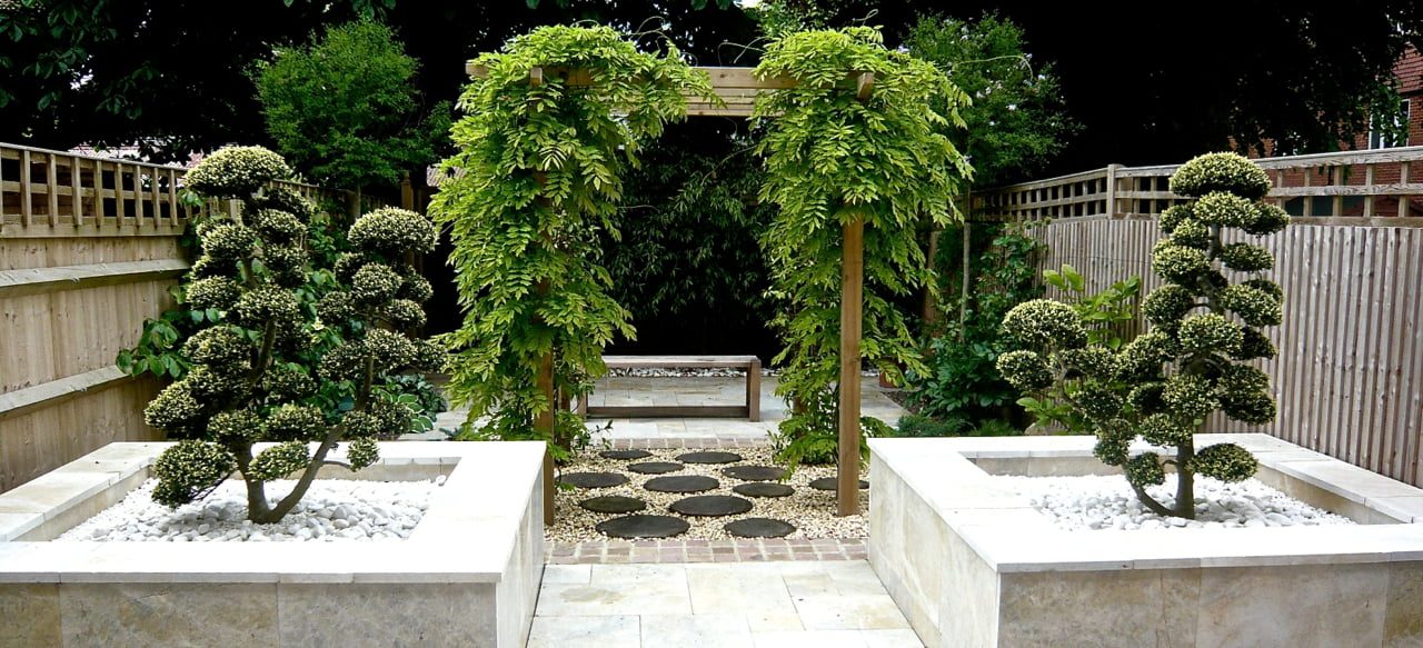 Zen garden jo alderson phillips for Japanese style landscaping
