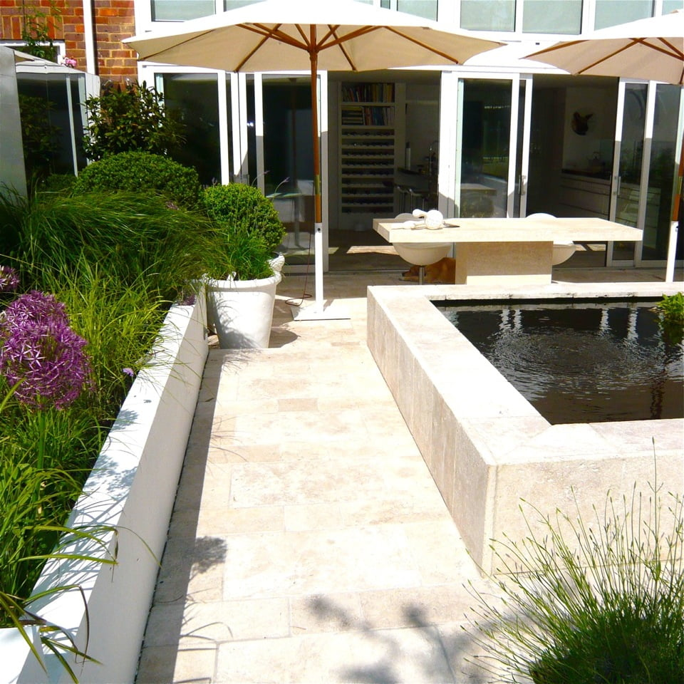 Joanne alderson garden design oxfordshire courtyard 5 jo for Garden design oxfordshire