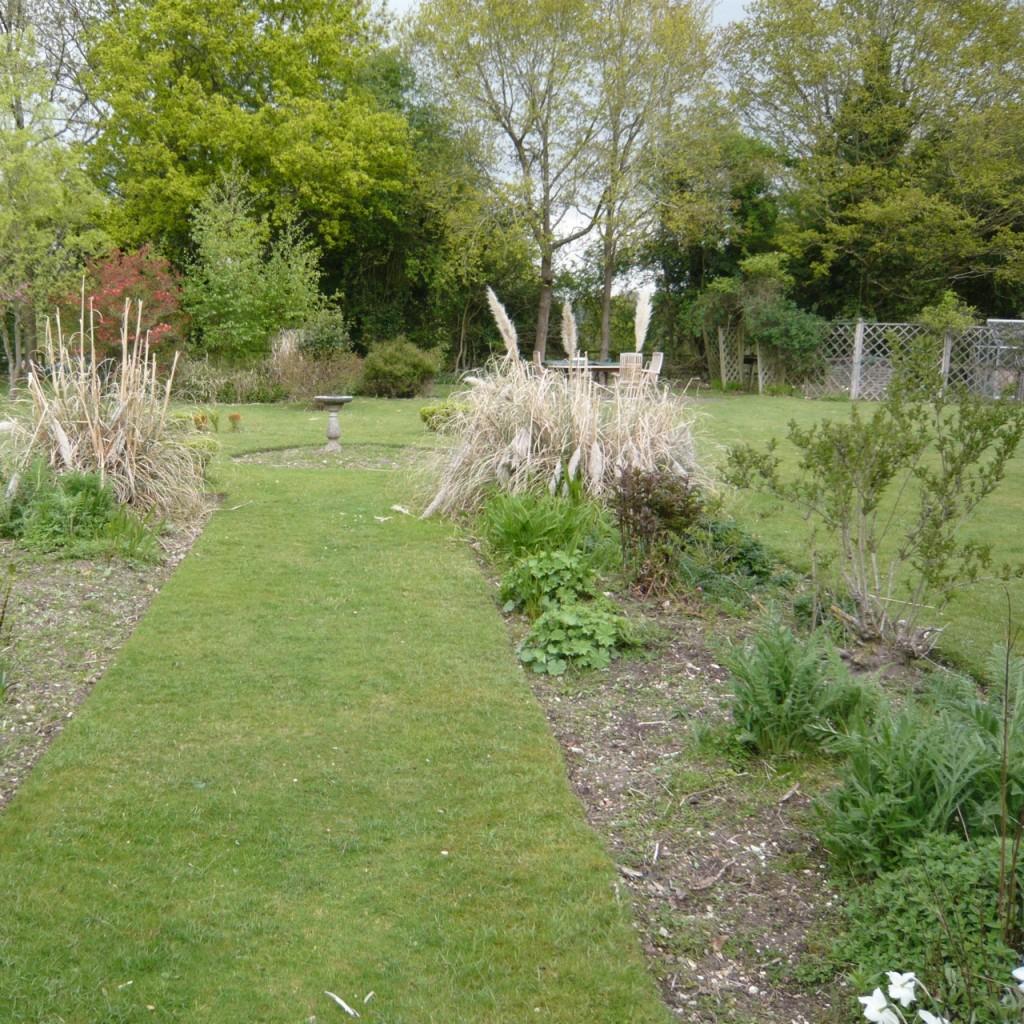 The garden we inherited!