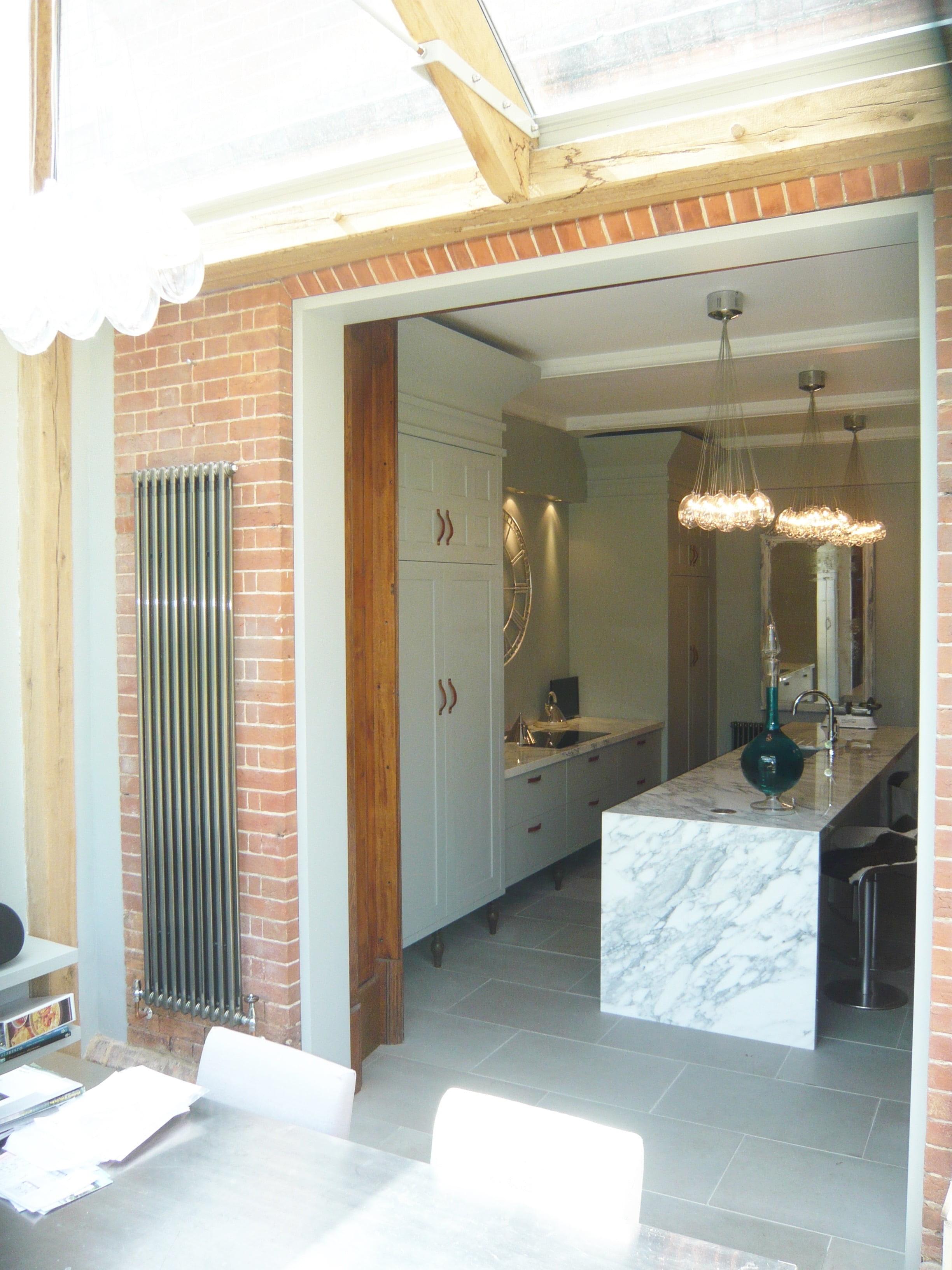 New kitchen in a Victorian house by Jo Alderson Design