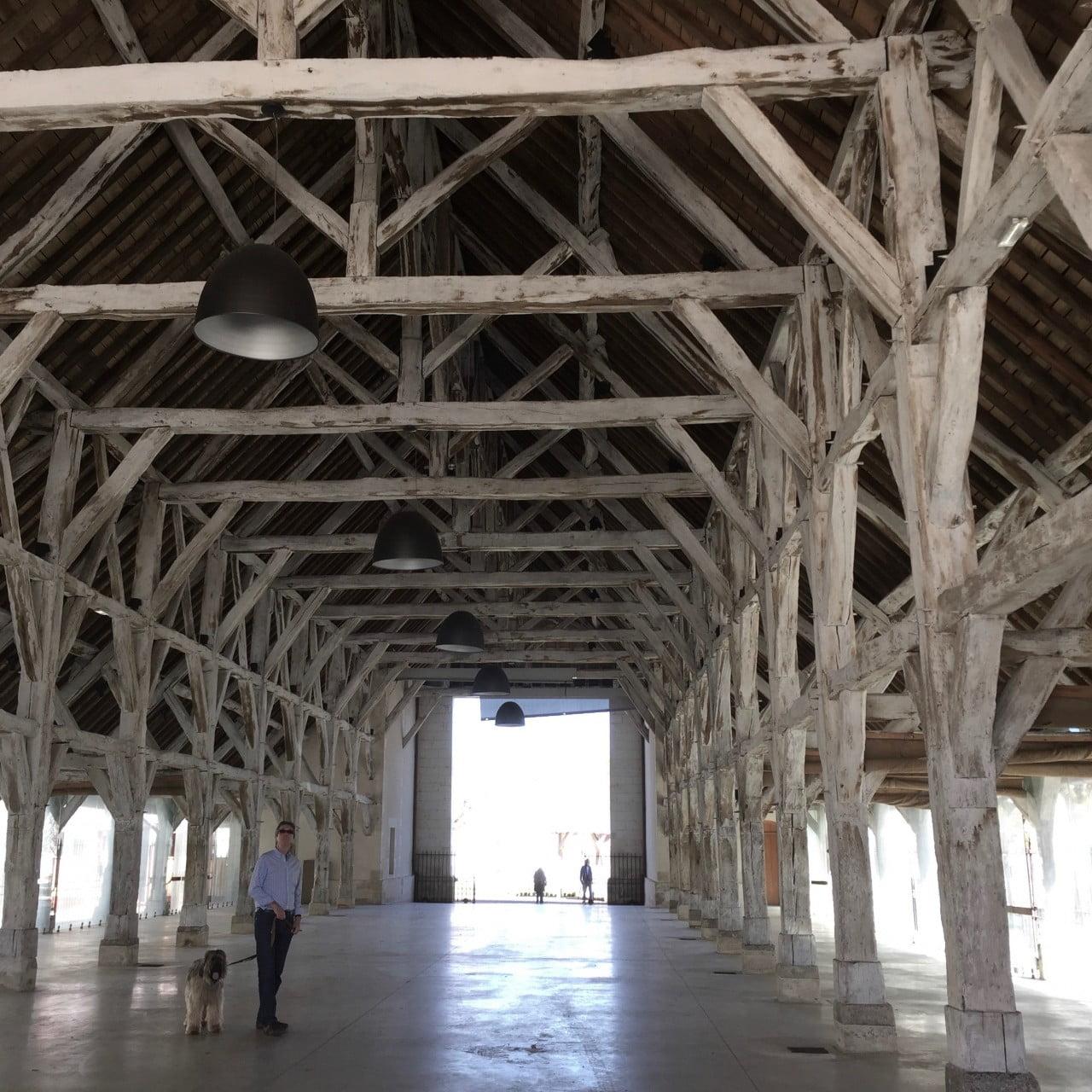 Beautiful market building in the Loire Valley taken last summer