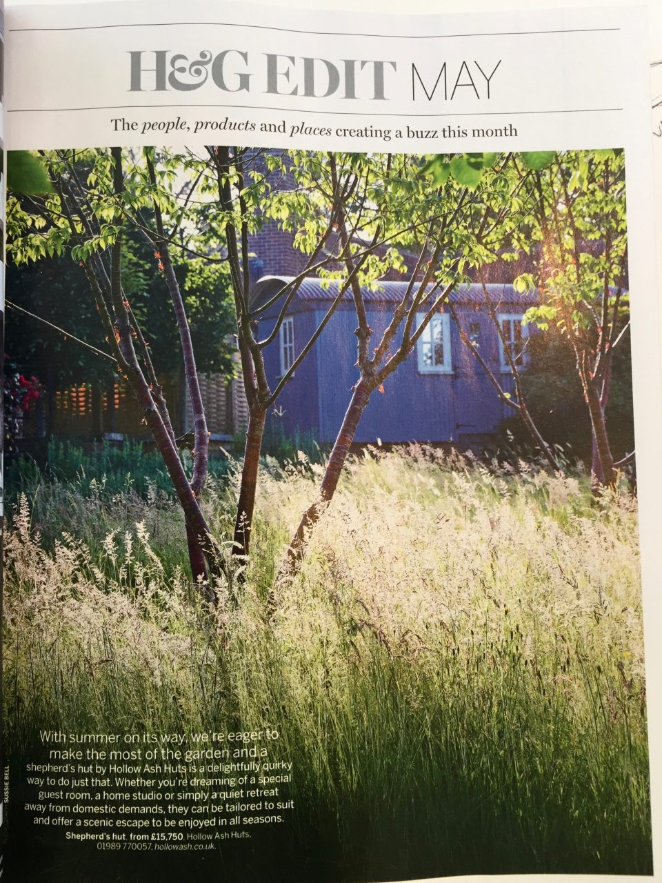 This is a page from Homes & Gardens Magazine featuring Orchard House that I designed for Jane & Doug near Amersham & Beaconsfield
