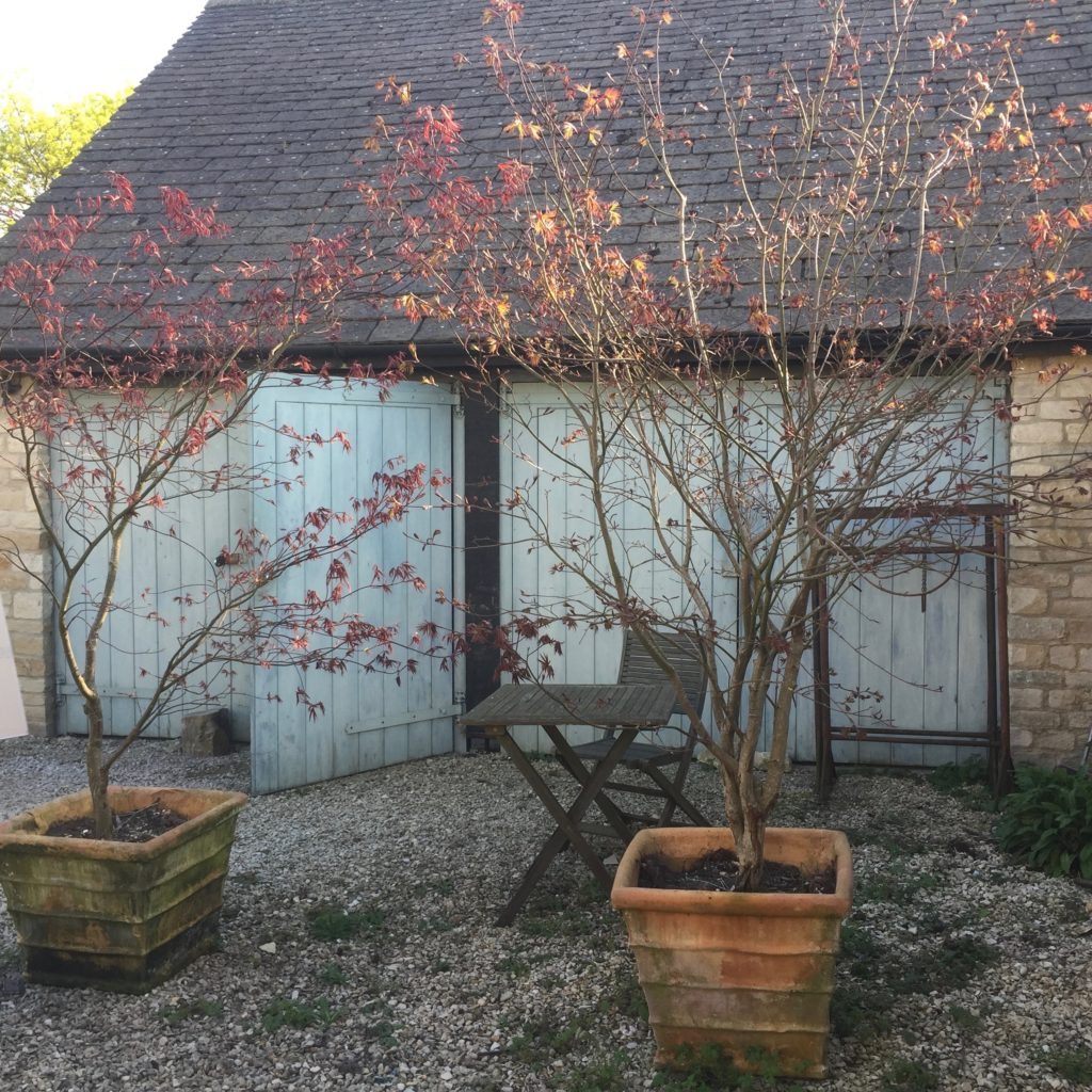 Cotswold stone garage