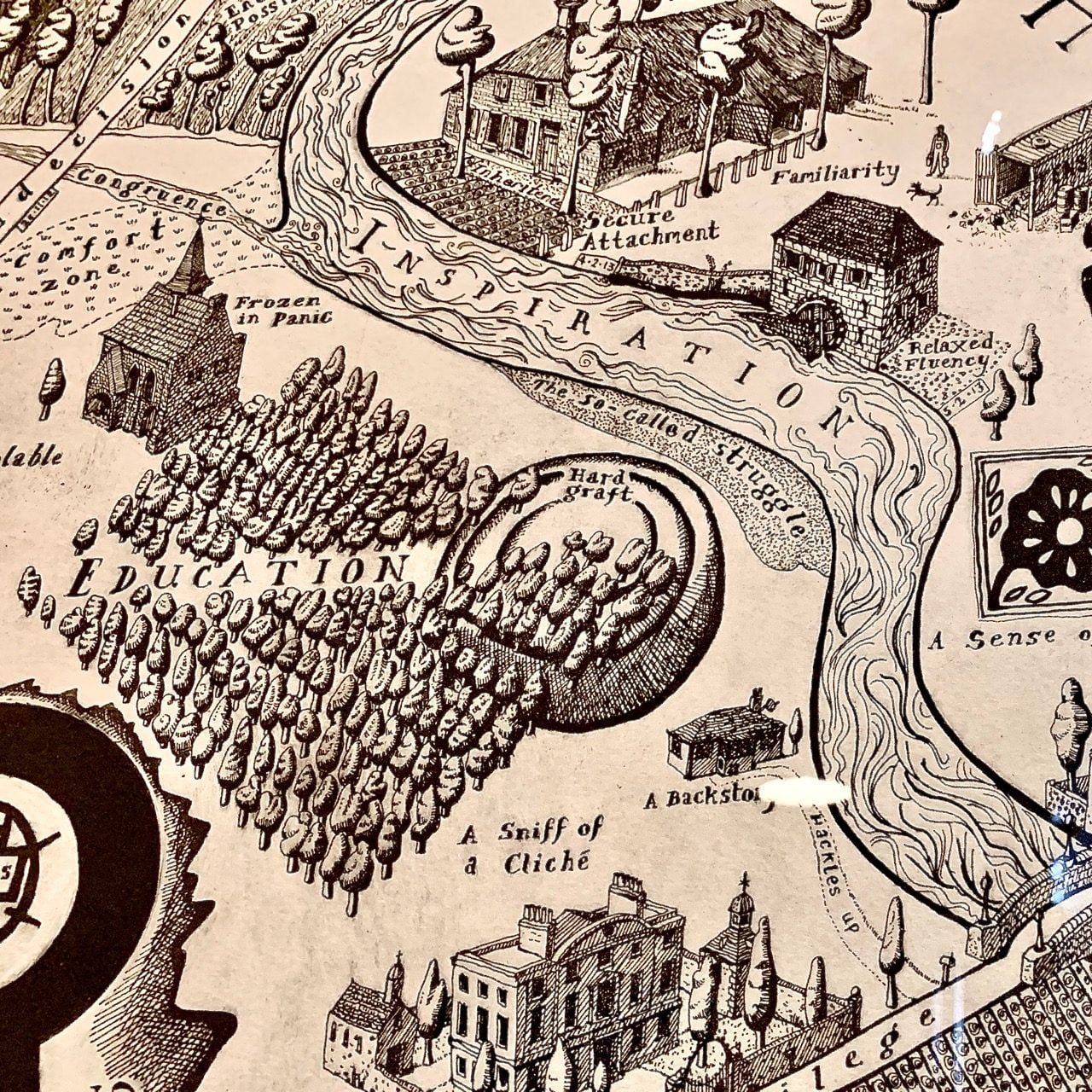 the brilliant map of days by Grayson Perry
