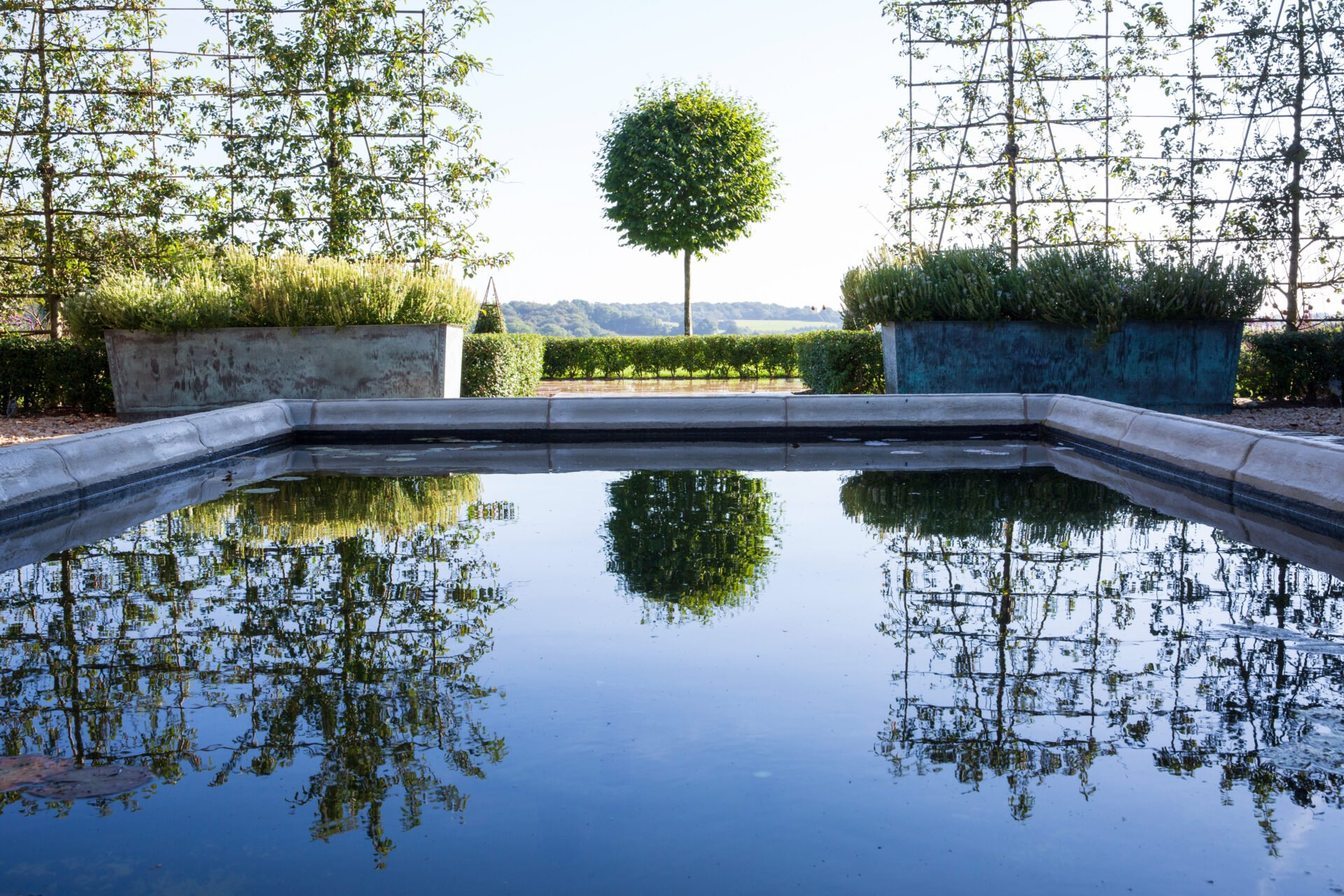 Formal pool @ Pips Place by Jo Alderson Phillips