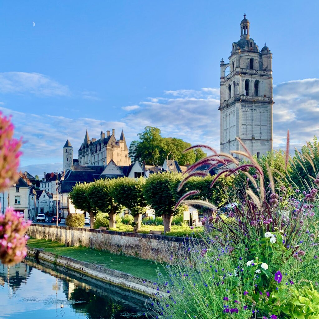 This is Loches in the Loire valley where I have a stdio